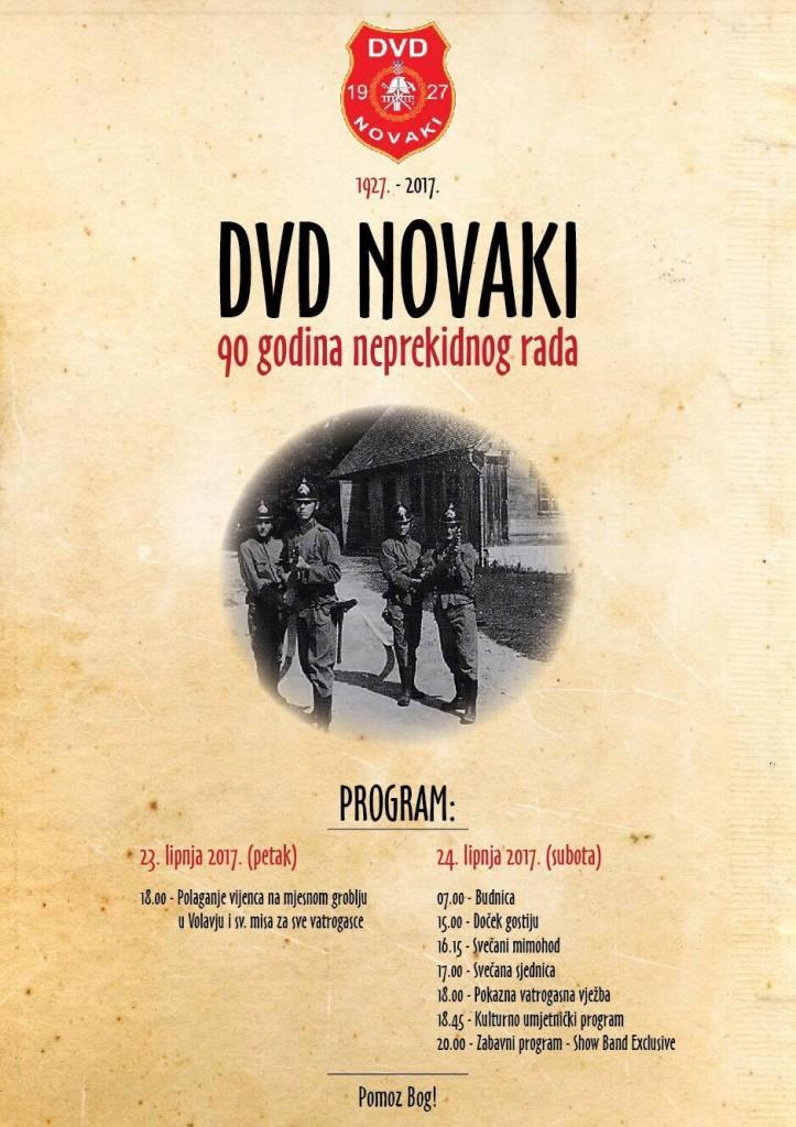 DVD Novaki pozivnica